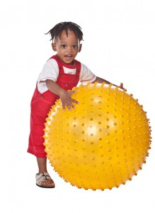 Occupational therapy improves sensory motor skills.