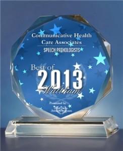 Waltham 2013 Award