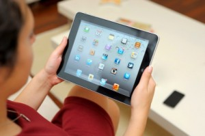 IPad assistive technology for speech language